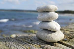 Stenar på hög